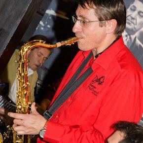 Jazz-Hall Saxophon