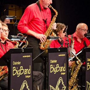 Daimler BigBand beim Jazz spielen