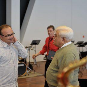 Gespräche im Workshop mit Sammy Nestico